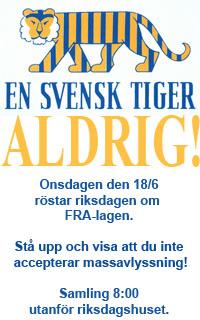 Svensk tiger aldrig