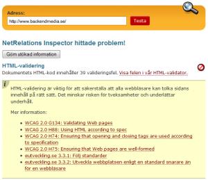 NetRelations Inspector
