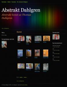 Abstrakt Dahlgren