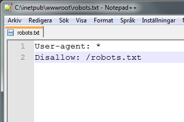 robots.txt Inception
