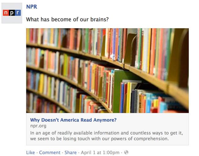 NPR aprilskämt